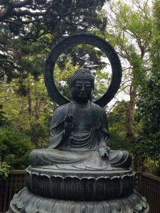 Buda en el Jardín Japonés de San Francisco.