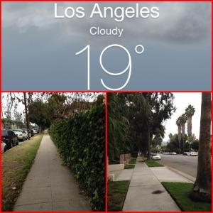 """Excelente temperatura y mañana nublada, lo que llaman """"el clima perfecto"""" para correr."""