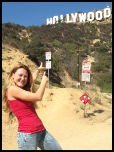La carrera del Griffith nos lleva hasta el letrero de Hollywood y hasta el Observatorio Astronómico de Los Ángeles! Woohoo!!