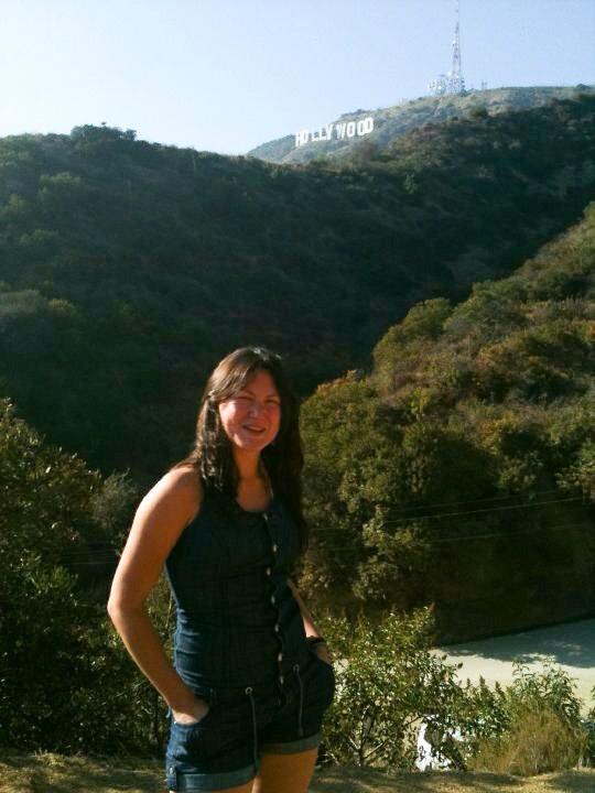 La primera vez que fui a ver el letrero de Hollywood. Octubre de 2010