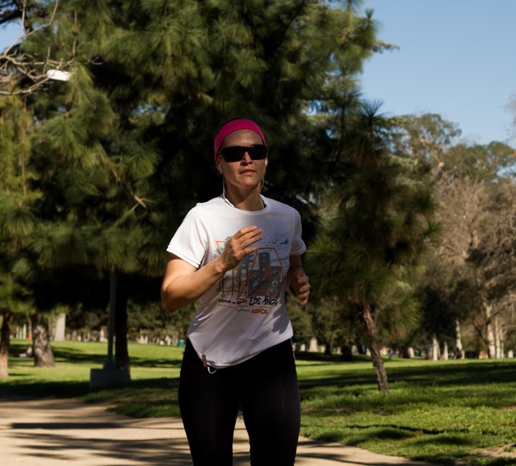 Corriendo en el parque