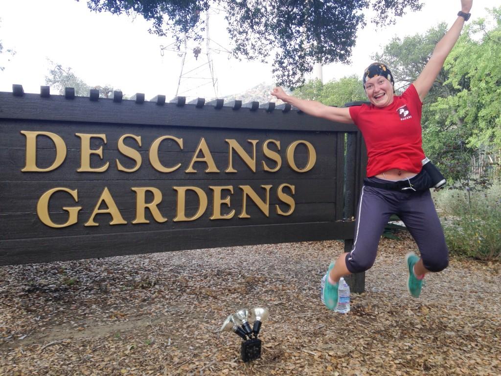 Mi primera vez subiendo hasta Descanso Gardens, el final de la ruta norte de 12 millas de los Pasadena Pacers.