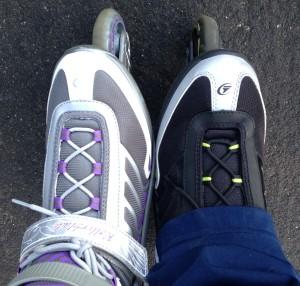 De niña, cuando patinaba por Villatarel o me iba hasta el otrora Vivero de la 77 o iba hasta el Patinódromo, siempre quise tener unos Rollerblade, pero nunca se pudo. Tuvieron que pasar 20 años para tenerlos, pero cumplí mi sueño.