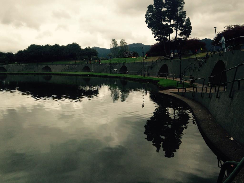 Foto del Simón Bolívar el domingo. Ese parque definitivamente es muy bonito