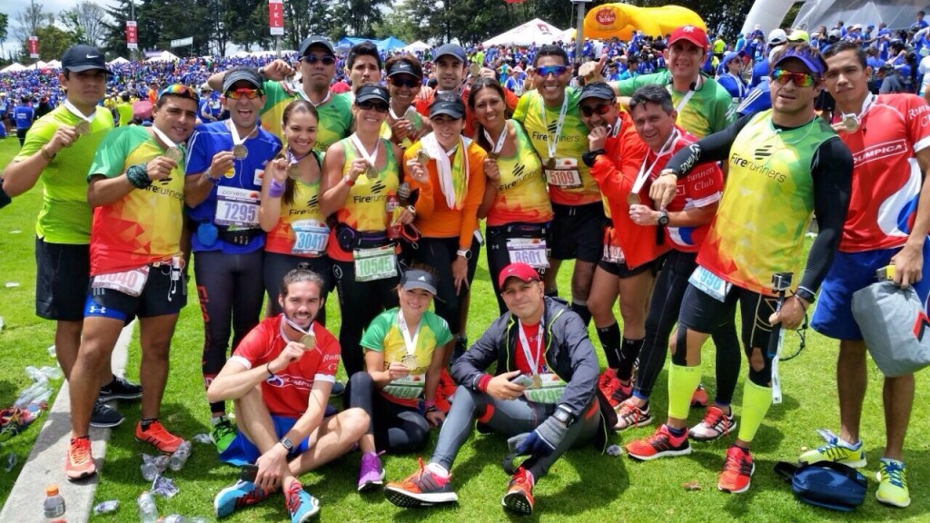 Media Maratón de Bogotá 2015