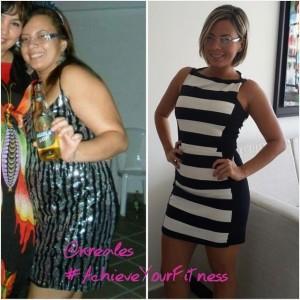 Karen, el antes y el después