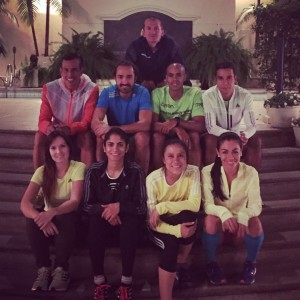 Ultrarunners y Coach Will Vargas