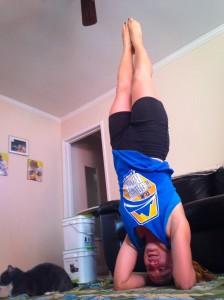 Y hacer estos ejercicios me marcó los abdominales! oh yeah!