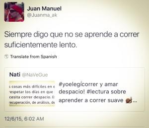 Este tuit de Juan Manuel se me quedó grabado y quiero compartírselos.