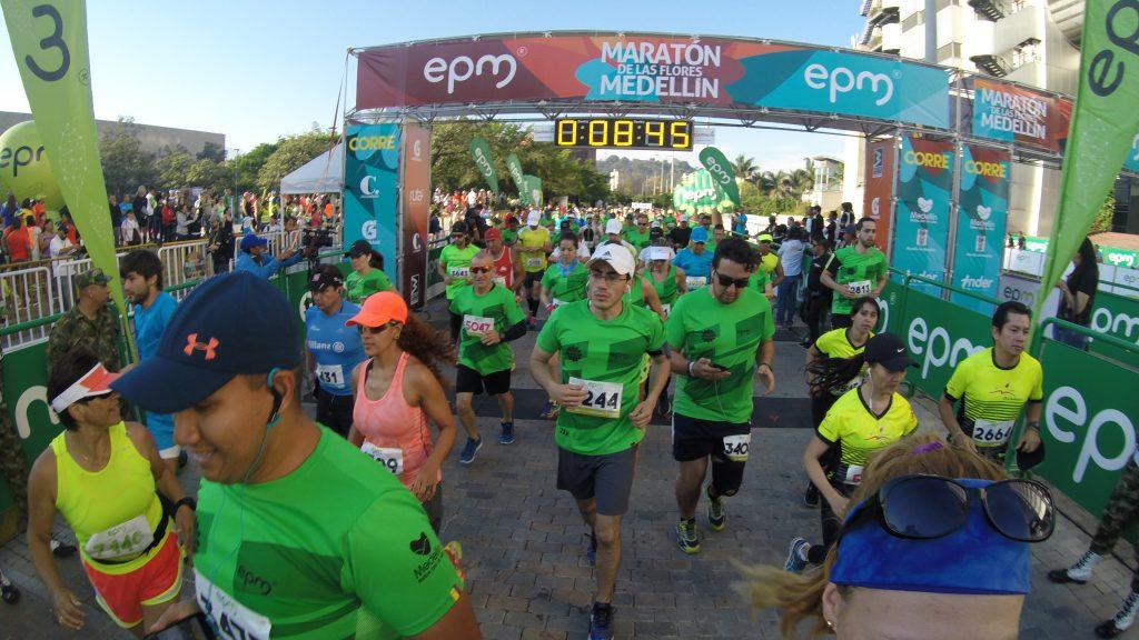 Maratón de Las Flores Medellín - navegueruns.com.