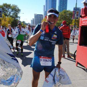 Medalla de la Maratón de Chicago